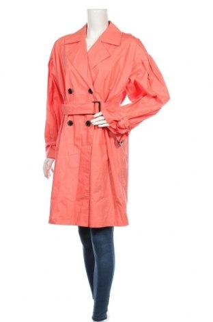 Дамски шлифер Culture, Размер M, Цвят Оранжев, Памук, Цена 104,25лв.