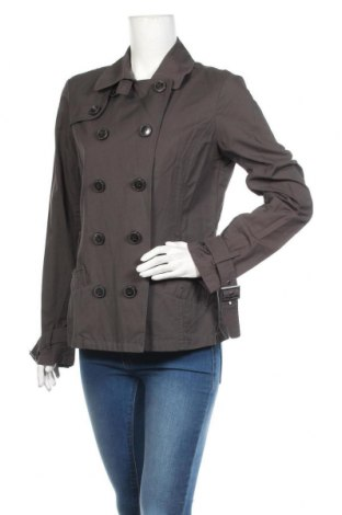 Дамски шлифер Esprit, Размер M, Цвят Сив, 64% памук, 36% полиамид, Цена 44,10лв.
