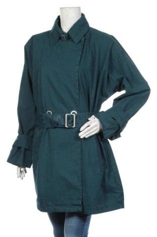 Дамски шлифер Khujo, Размер XXL, Цвят Зелен, Памук, Цена 224,25лв.