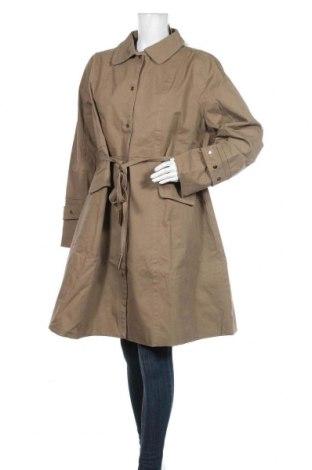 Дамски шлифер Lost Ink, Размер XXL, Цвят Кафяв, 97% памук, 3% еластан, Цена 89,25лв.