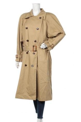 Дамски шлифер Dua Lipa x Pepe Jeans, Размер S, Цвят Бежов, 65% полиестер, 35% памук, Цена 216,75лв.