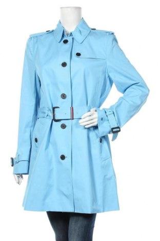 Дамски шлифер Tommy Hilfiger, Размер XL, Цвят Син, Памук, Цена 261,75лв.