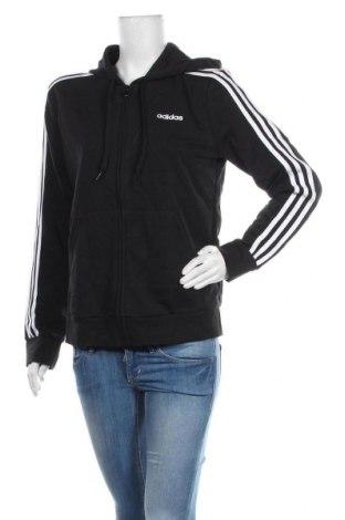 Дамски суичър Adidas, Размер L, Цвят Черен, 52% памук, 48% полиестер, Цена 72,00лв.