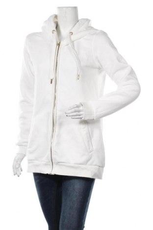 Дамски суичър MyMO, Размер M, Цвят Бял, 65% полиестер, 35% памук, Цена 36,98лв.