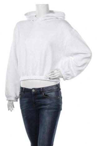 Дамски суичър Zara, Размер M, Цвят Бял, 64% памук, 36% полиестер, Цена 44,25лв.