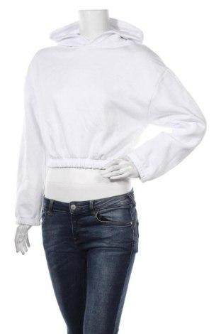 Дамски суичър Zara, Размер S, Цвят Бял, 64% памук, 36% полиестер, Цена 39,00лв.