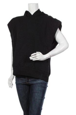 Дамски суичър Zara, Размер S, Цвят Черен, Памук, Цена 36,75лв.