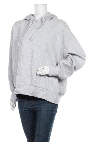 Дамски суичър Zara, Размер M, Цвят Сив, 76% памук, 21% полиестер, 3% вискоза, Цена 44,25лв.