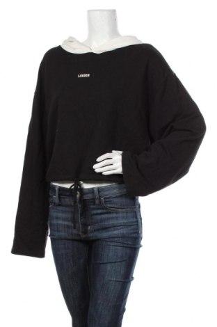 Дамски суичър Zara, Размер L, Цвят Черен, Памук, Цена 44,25лв.