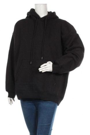 Дамски суичър Zara, Размер M, Цвят Черен, 63% памук, 37% полиестер, Цена 42,00лв.