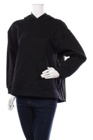 Дамски суичър Zara, Размер M, Цвят Черен, Памук, полиестер, Цена 39,00лв.