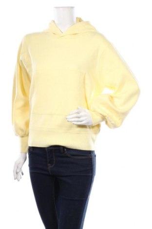 Дамски суичър Zara, Размер M, Цвят Жълт, 50% вискоза, 30% полиестер, 20% полиамид, Цена 39,00лв.