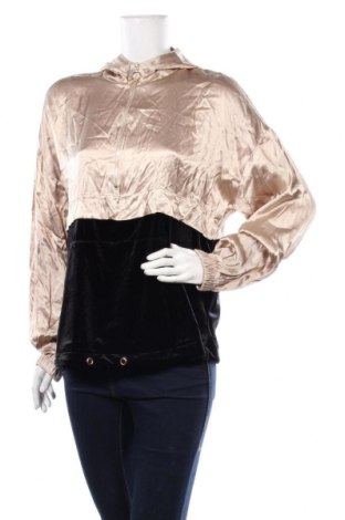 Дамски суичър Zara, Размер M, Цвят Златист, 93% полиестер, 7% еластан, Цена 39,00лв.