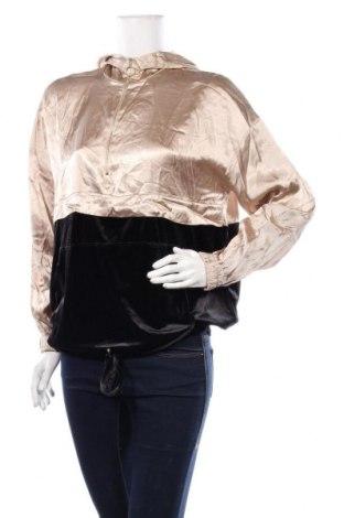 Дамски суичър Zara, Размер S, Цвят Златист, 93% полиестер, 7% еластан, Цена 44,25лв.