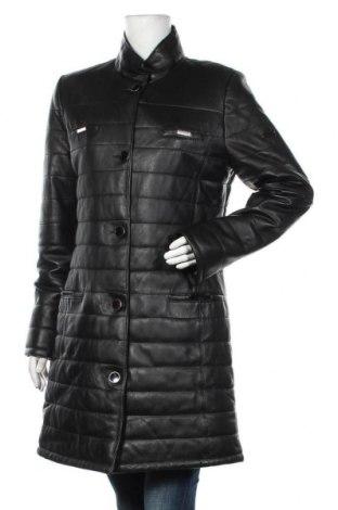 Дамско кожено яке Iparelde, Размер 3XL, Цвят Черен, Естествена кожа, Цена 291,75лв.