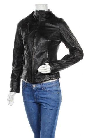 Дамско кожено яке Jilani Collection, Размер S, Цвят Черен, Естествена кожа, Цена 252,85лв.