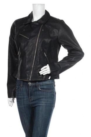 Dámská kožená bunda  ONLY, Velikost XL, Barva Černá, Eko kůže, Cena  968,00Kč