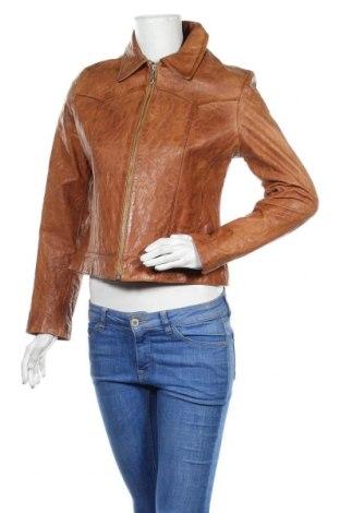 Γυναικείο δερμάτινο μπουφάν Wilsons Leather, Μέγεθος M, Χρώμα Καφέ, Γνήσιο δέρμα, Τιμή 87,22€