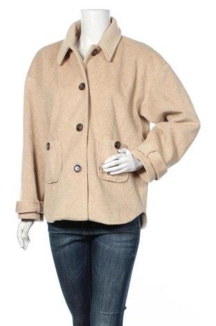 Дамско палто, Размер S, Цвят Бежов, Цена 44,80лв.