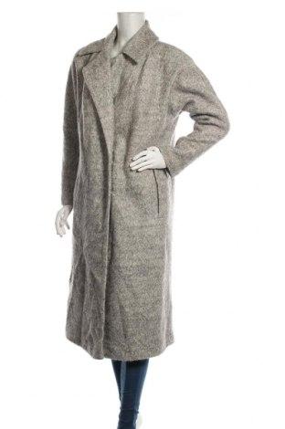 Дамско палто ASOS, Размер M, Цвят Сив, 58% полиестер, 42% вълна, Цена 77,81лв.