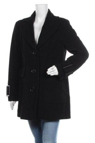 Дамско палто Adagio, Размер M, Цвят Черен, 60% вълна, 20% полиамид, 20% кашмир, Цена 37,49лв.