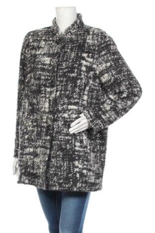Дамско палто Apanage, Размер L, Цвят Сив, 37% полиестер, 22% акрил, 22% вълна, 19% мохер, Цена 50,40лв.
