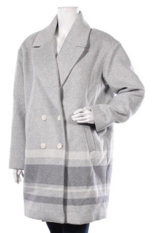 Дамско палто Banana Republic, Размер M, Цвят Сив, 50% вълна, 40% полиестер, 10% други тъкани, Цена 248,82лв.