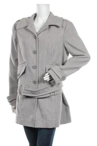 Дамско палто Buffalo, Размер XL, Цвят Бежов, 77% полиестер, 20% вискоза, 3% еластан, Цена 43,73лв.