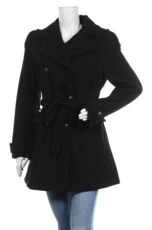 Дамско палто Casa Blanca, Размер M, Цвят Черен, 70% вълна, 25% полиестер, 5% вискоза, Цена 43,89лв.