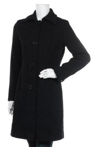 Дамско палто Colours Of The World, Размер S, Цвят Черен, 25% вълна, 35% полиестер, 35% полиакрил, 3% други тъкани, Цена 47,88лв.