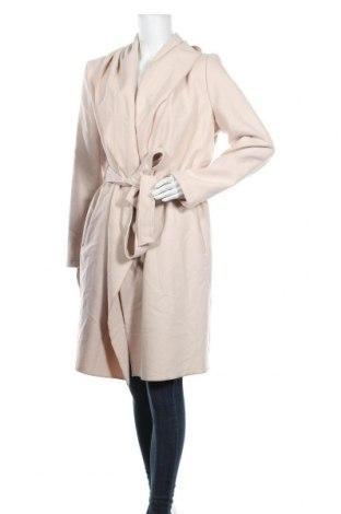 Дамско палто Comma,, Размер XL, Цвят Бежов, 66% полиестер, 32% вискоза, 2% еластан, Цена 194,35лв.