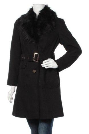 Dámský kabát  Dorothy Perkins, Velikost M, Barva Černá, 94% polyester, 4% viskóza, 2% elastan, Cena  1728,00Kč