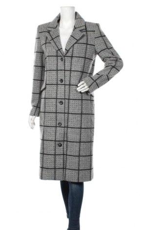 Дамско палто Dranella, Размер S, Цвят Сив, 58% полиестер, 32% акрил, 10% вълна, Цена 179,25лв.