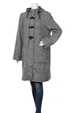 Дамско палто Dreimaster, Размер XXL, Цвят Черен, 61% полиестер, 30% акрил, 4% полиамид, 4% вълна, 1% вискоза, Цена 111,30лв.