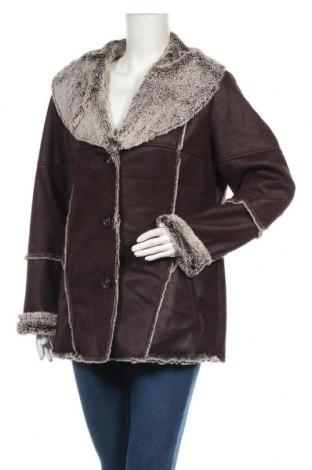 Дамско палто Gelco, Размер M, Цвят Кафяв, Полиестер, Цена 20,72лв.