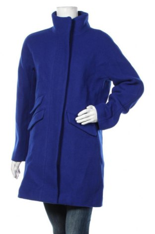 Дамско палто J.Crew, Размер M, Цвят Син, 80% вълна, 20% полиамид, Цена 313,17лв.