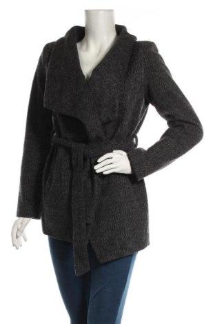 Дамско палто Jennifer Taylor, Размер S, Цвят Сив, 53% полиестер, 37% акрил, 10% вискоза, Цена 44,10лв.