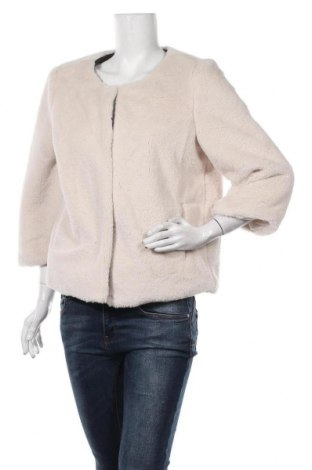 Дамско палто Lola & Liza, Размер L, Цвят Бежов, Полиестер, Цена 22,99лв.