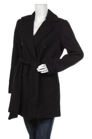 Дамско палто Lost Ink, Размер M, Цвят Черен, 48% полиестер, 26% вълна, 18% акрил, 5% памук, 2% вискоза, 1% полиамид, Цена 111,75лв.