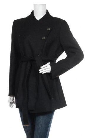 Dámský kabát  Mint & Berry, Velikost L, Barva Černá, 80% polyester, 20% vlna, Cena  1619,00Kč