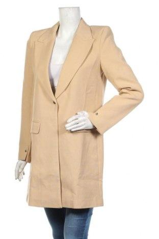 Дамско палто Mint & Berry, Размер M, Цвят Бежов, 76% полиестер, 20% вискоза, 4% еластан, Цена 81,75лв.