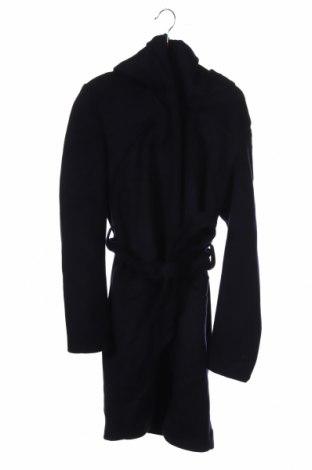 Дамско палто Mint & Berry, Размер XS, Цвят Син, 50% вълна, 50% полиестер, Цена 134,25лв.