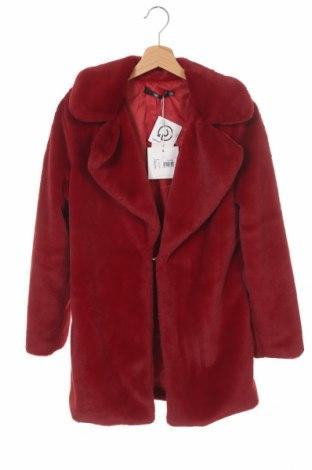 Palton de femei Missguided, Mărime XS, Culoare Roșu, Poliester, Preț 244,25 Lei