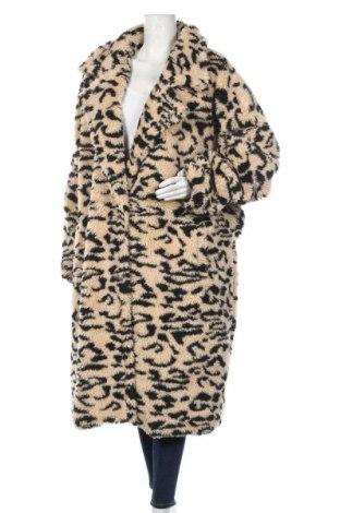 Дамско палто Missguided, Размер 3XL, Цвят Бежов, Полиестер, Цена 104,25лв.