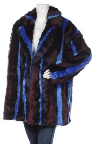 Дамско палто Monki, Размер XL, Цвят Многоцветен, Полиестер, Цена 97,58лв.