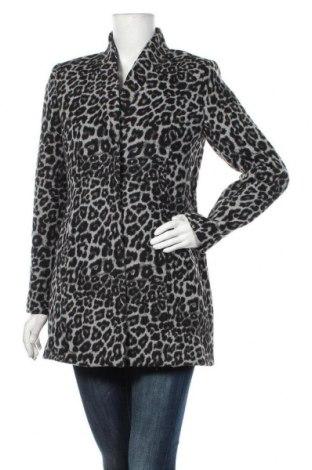 Dámský kabát  Naf Naf, Velikost S, Barva Bílá, 45% polyester, 35% viskóza, 20% vlna, Cena  1511,00Kč