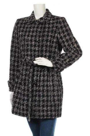 Dámský kabát  Naf Naf, Velikost M, Barva Černá, 42% vlna, 29% polyester, 15%acryl, 14% bavlna, Cena  1946,00Kč