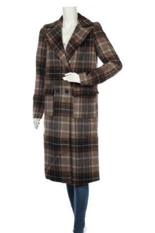Дамско палто Noisy May, Размер S, Цвят Многоцветен, 80% полиестер, 10% акрил, 5% вискоза, 5% вълна, Цена 81,75лв.