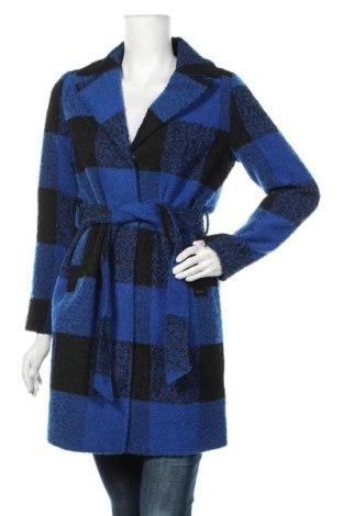 Дамско палто Noisy May, Размер M, Цвят Син, Полиестер, Цена 81,75лв.