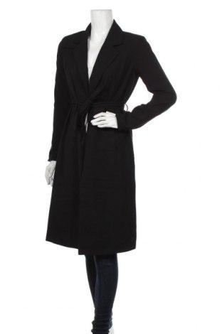 Dámský kabát  ONLY, Velikost S, Barva Černá, 97% polyester, 3% elastan, Cena  670,00Kč
